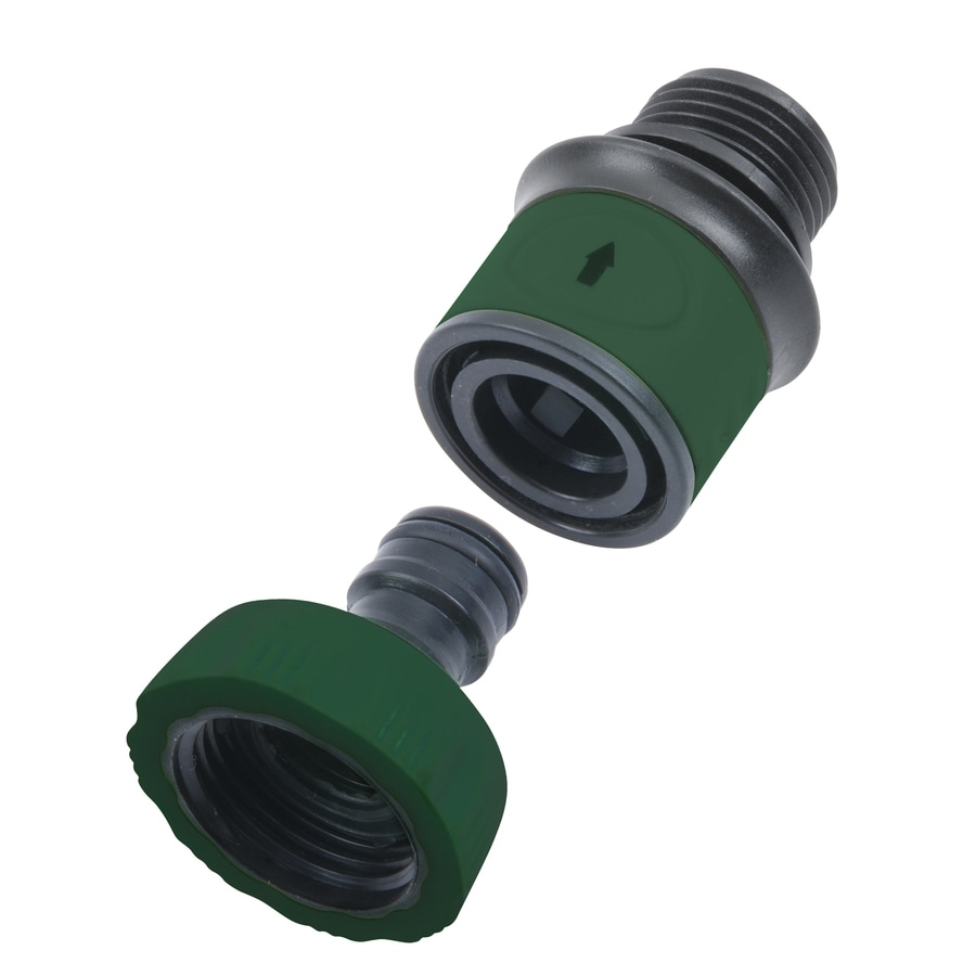 Kitchen Sink Garden Hose Adapter Shop Garden Hose Quick Connectors At Lowescom