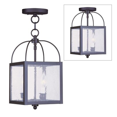 Ord Seeded Black Pendant Light Modern Contemporary Gl Lantern