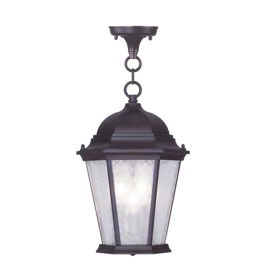Aberdeen 14-in Bronze Outdoor Pendant Light