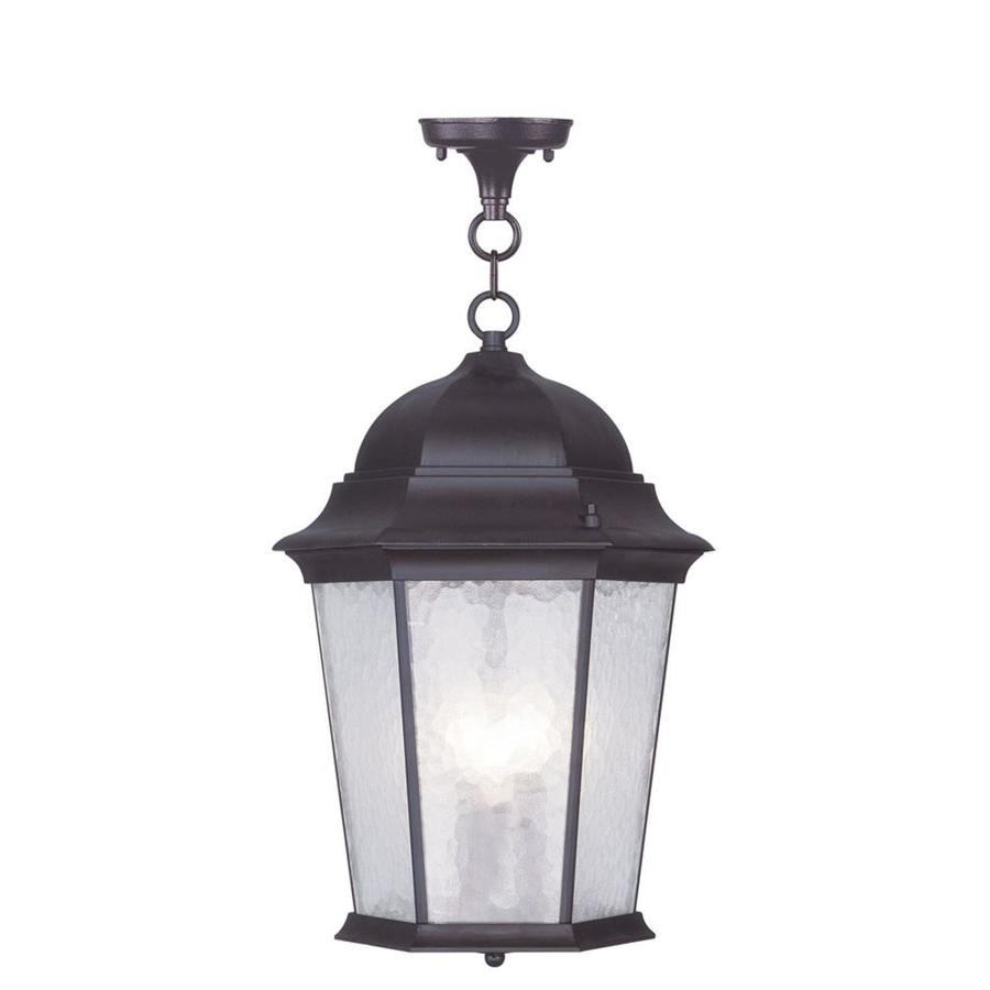 Aberdeen 19-in Bronze Outdoor Pendant Light