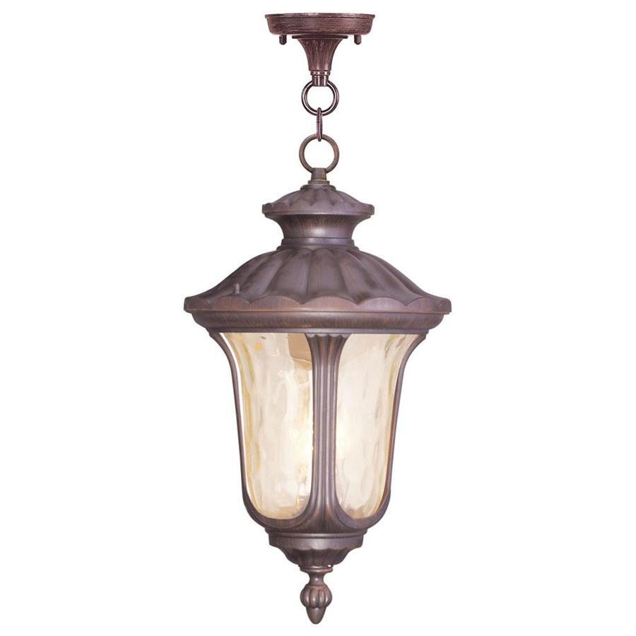 Aberdeen 26-in Imperial Bronze Outdoor Pendant Light