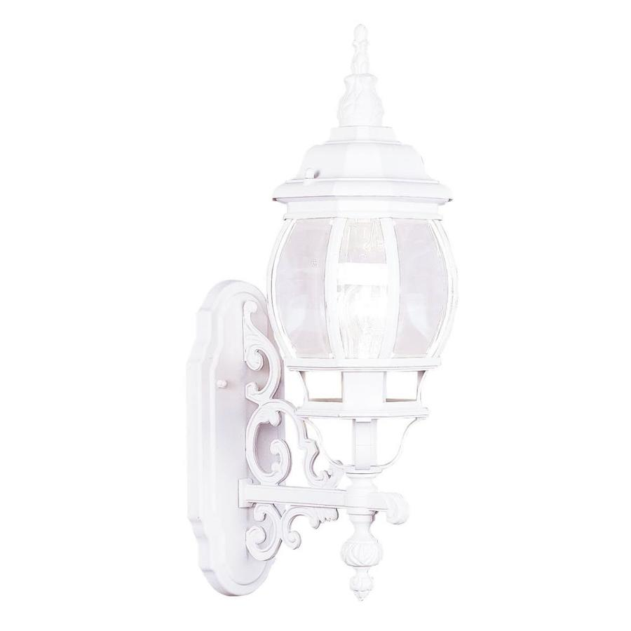 Livex Lighting Frontenac 20-in H White Electrical Outlet ...