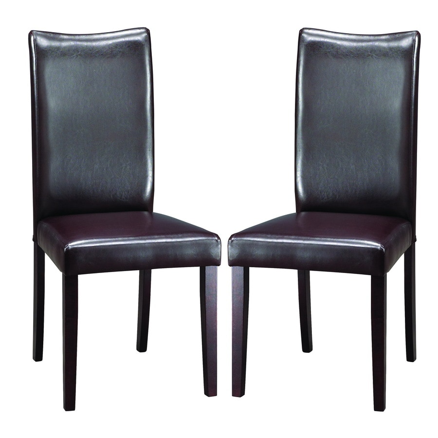 Baxton Studio Set of 2 Contemporary Side Chairs