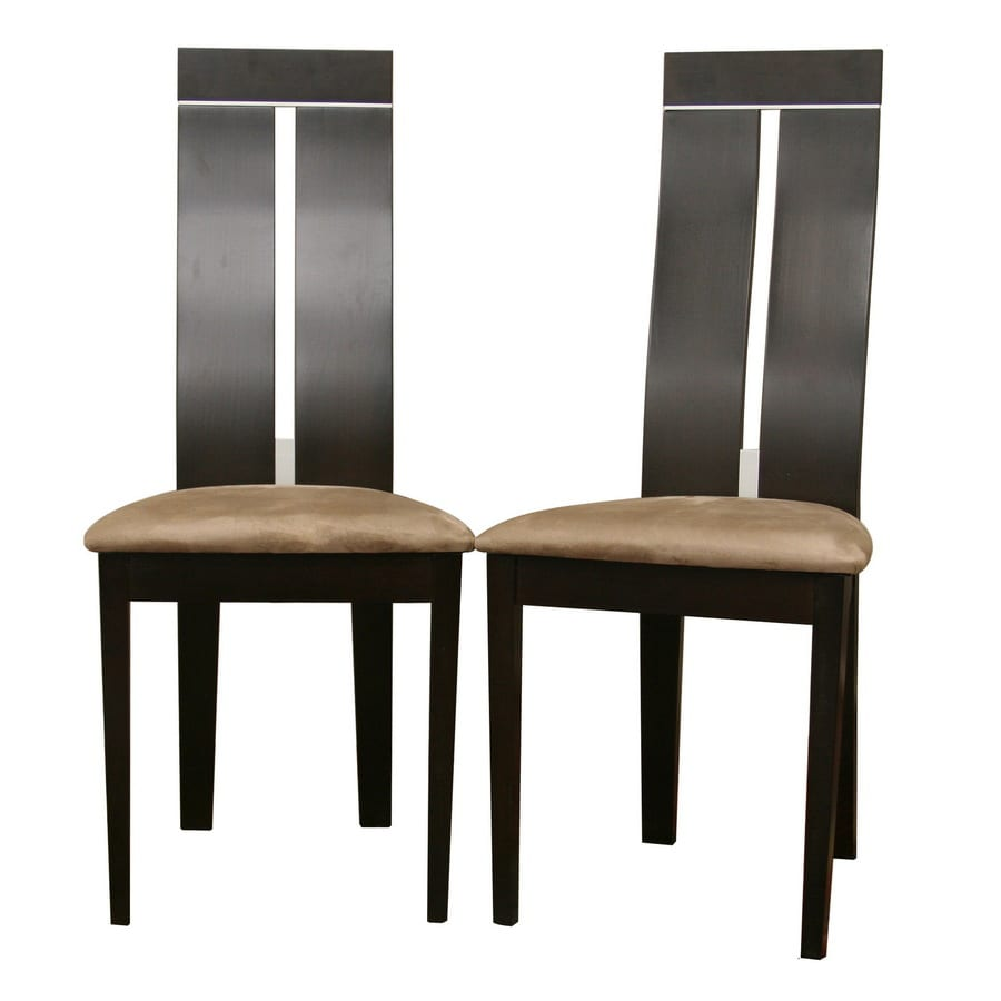 Baxton Studio Set of 2 Baxton Contemporary Side Chairs