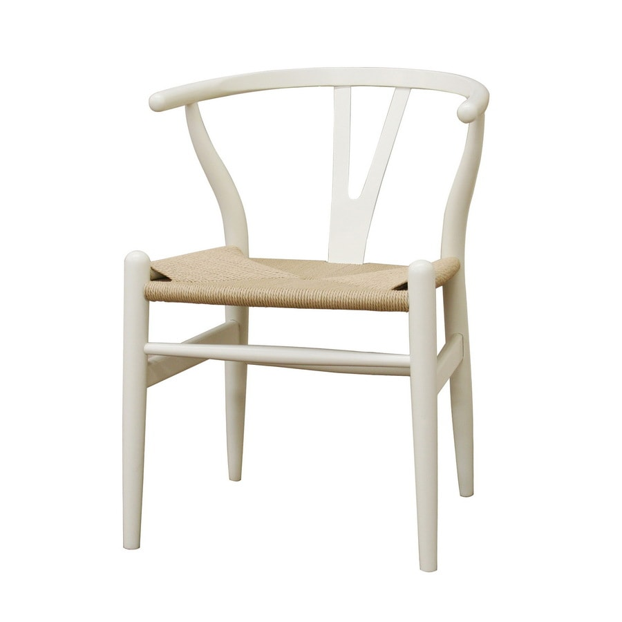 Baxton Studio Contemporary White Side Chair