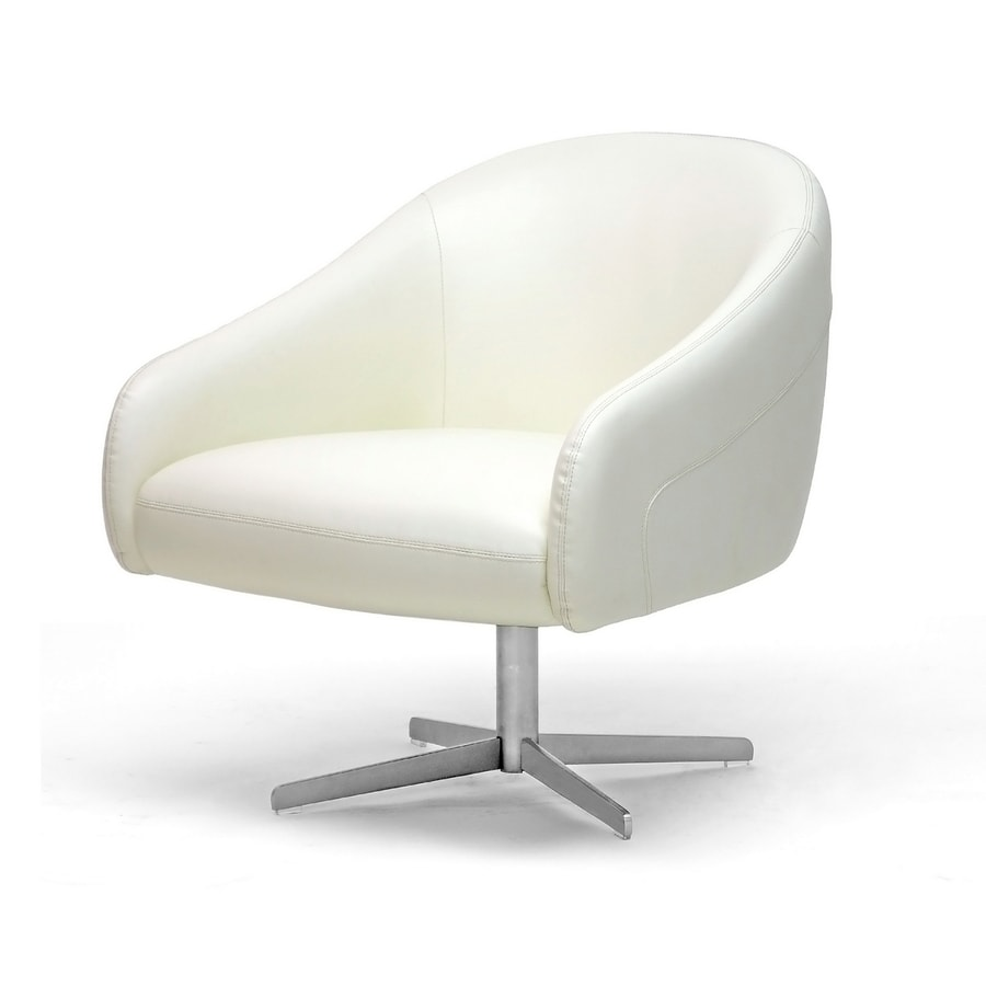 Baxton Studio Ivory Club Chair