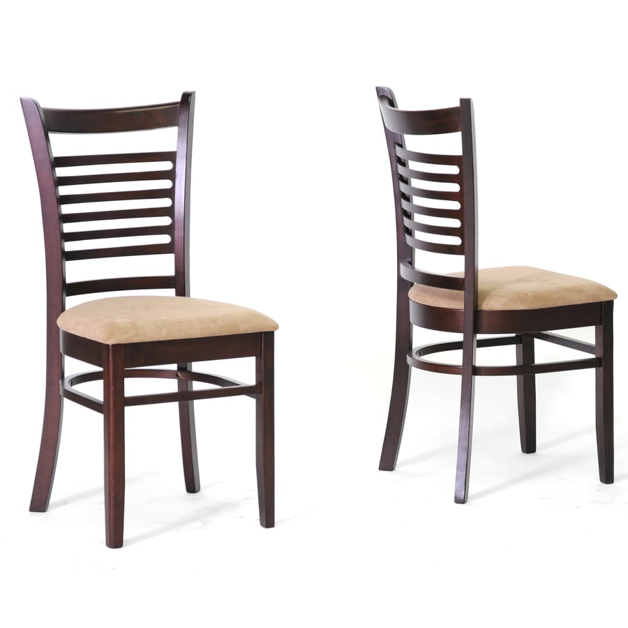 Baxton Studio Set of 2 Contemporary Beige Side Chairs