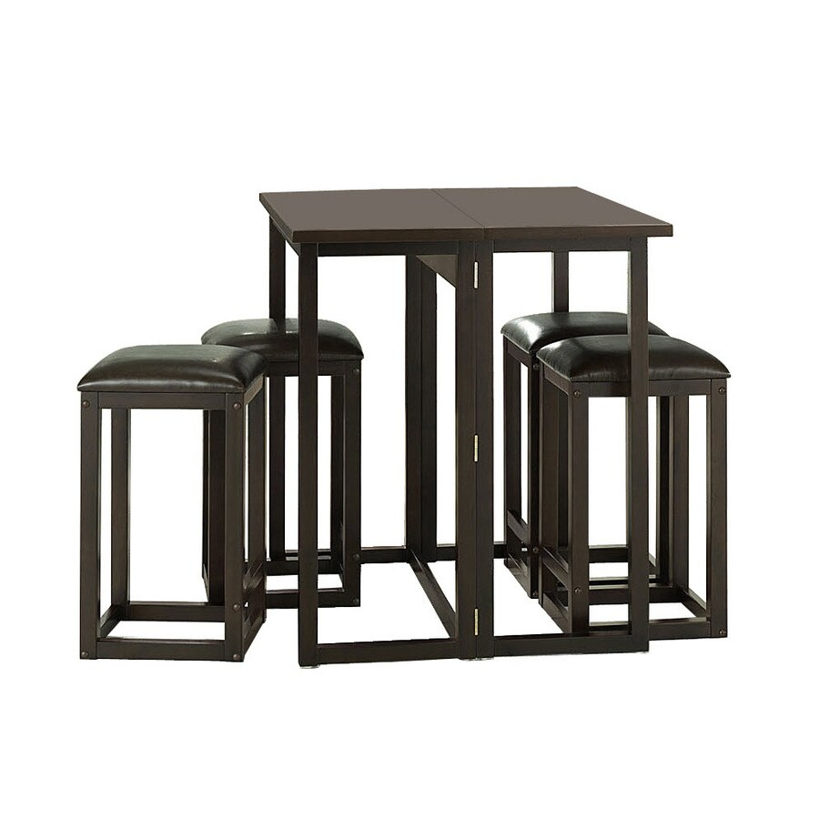 Baxton Studio Dark Brown Dining Set