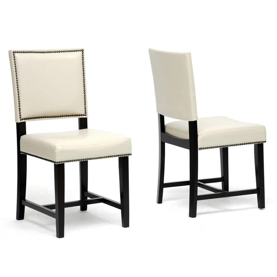 Baxton Studio Set of 2 Nottingham Side Chairs