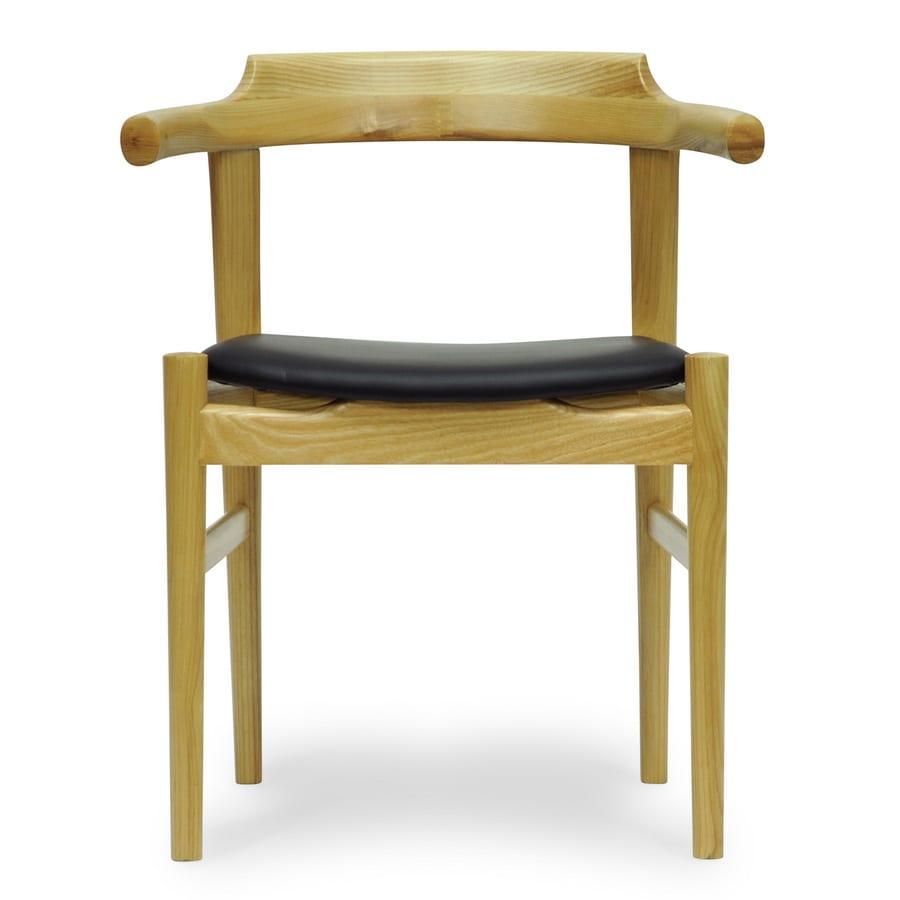 Baxton Studio Lausch Natural Side Chair