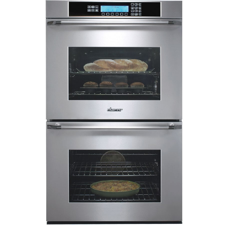 Dacor 27 In Self Cleaning Convection Double Electric Wall Oven Stainless Steel