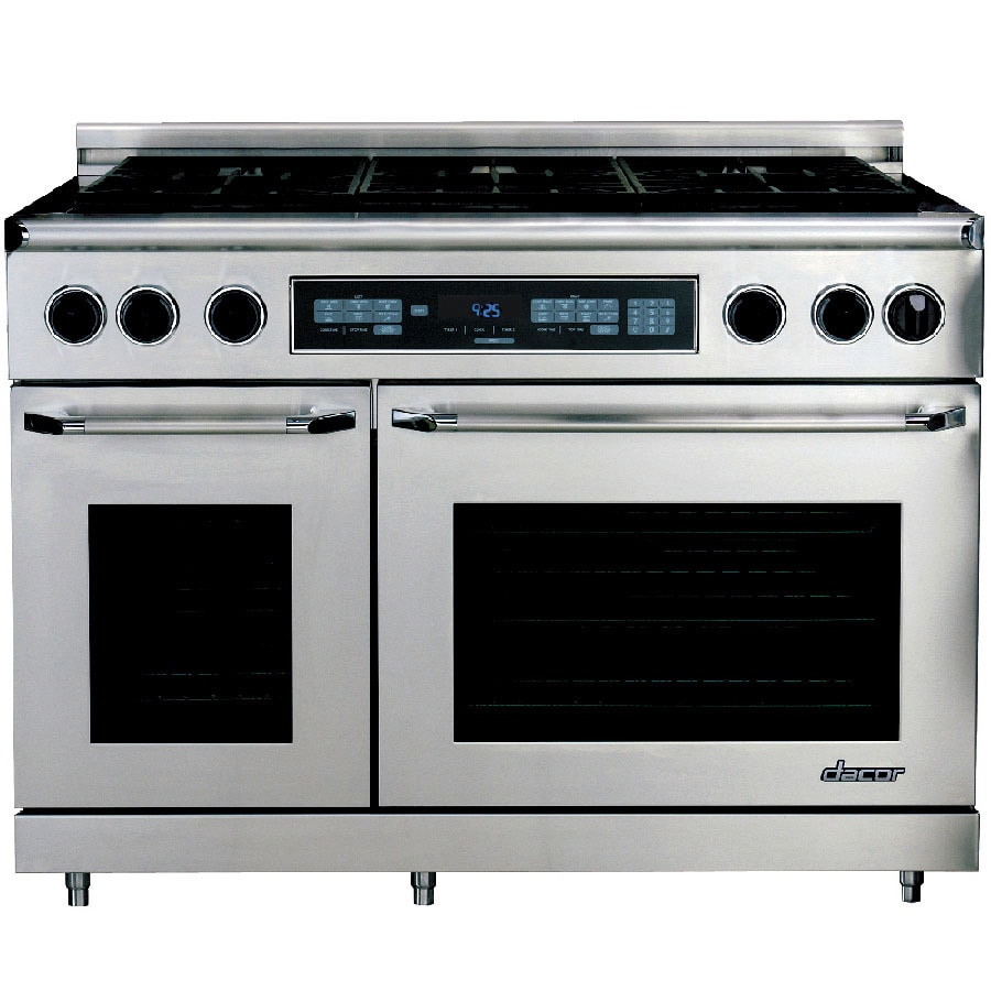 Shop dacor discovery 6 burner self cleaning convection for Dacor cooktop