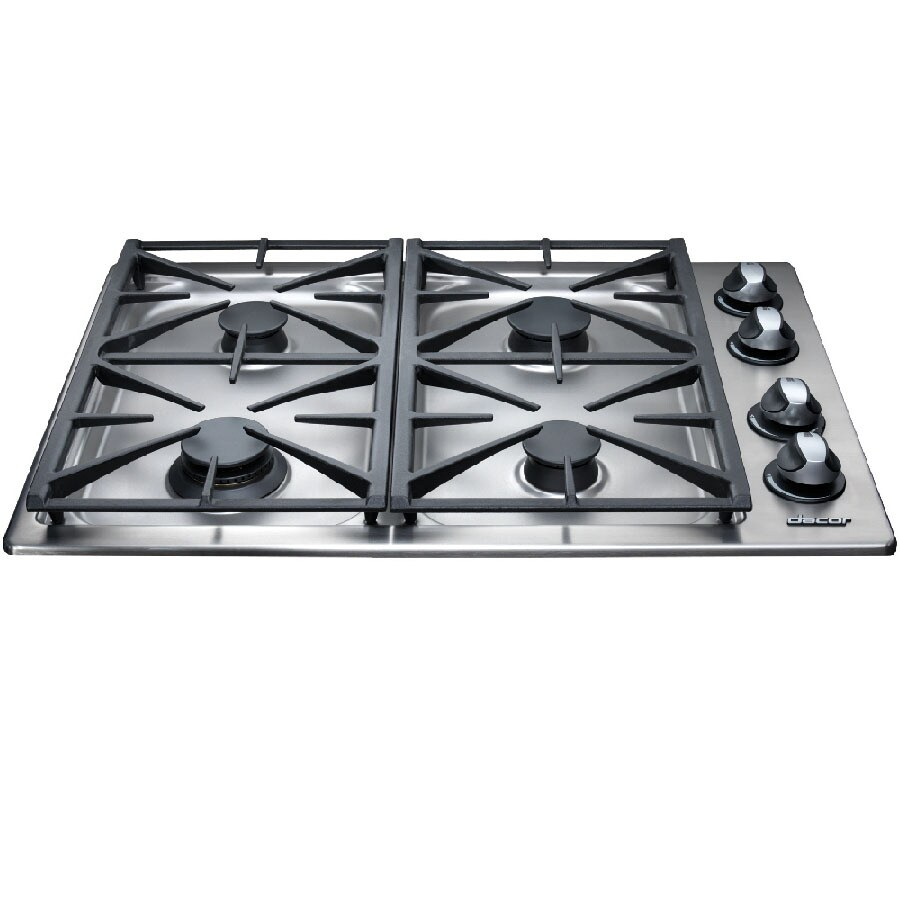 High Quality Dacor 30 Inch 4 Burner Gas Cooktop (Color: Stainless Steel)