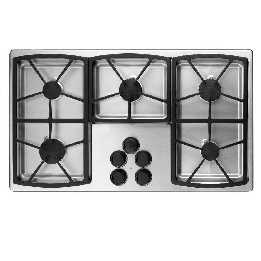 5 Burner Gas Cooktops: Dacor Classic 5-Burner Gas Cooktop (Stainless Steel