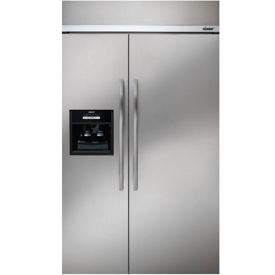shop dacor 42 in side by side built in refrigerator