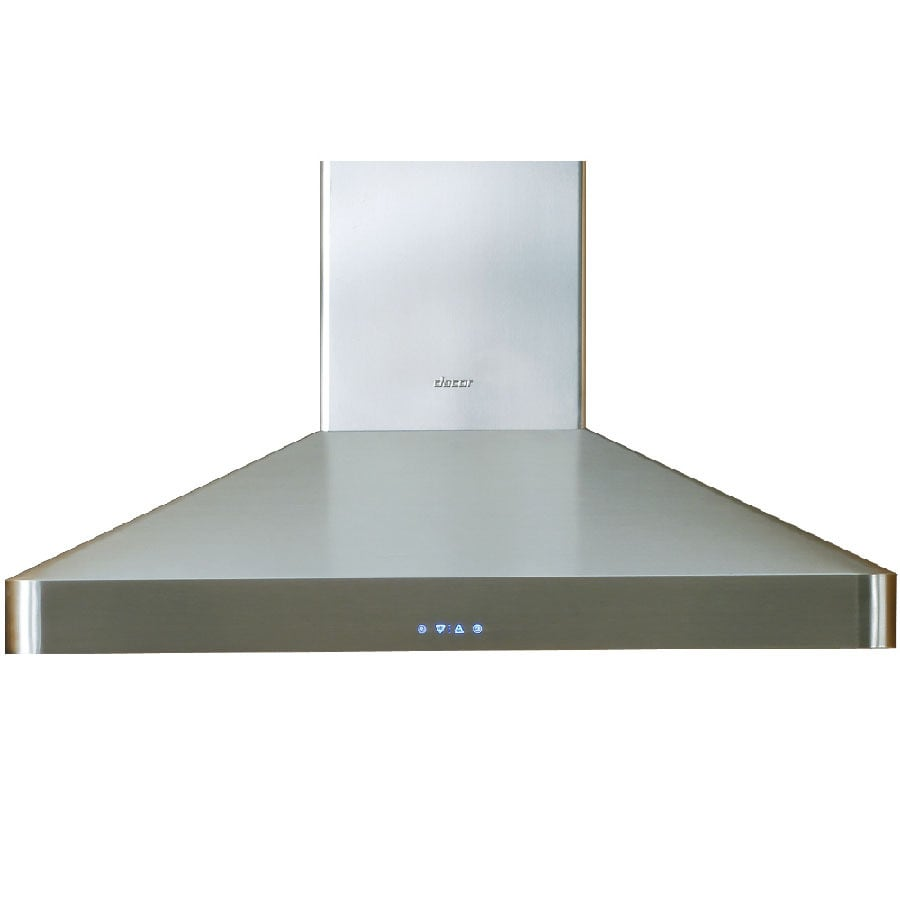 Shop dacor ducted wall mounted range hood stainless steel for Dacor 48 range