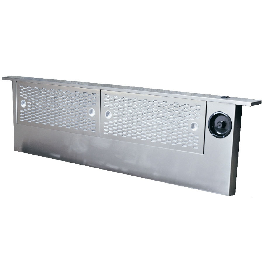 Shop dacor 36 in downdraft range hood stainless steel at for What is a downdraft range