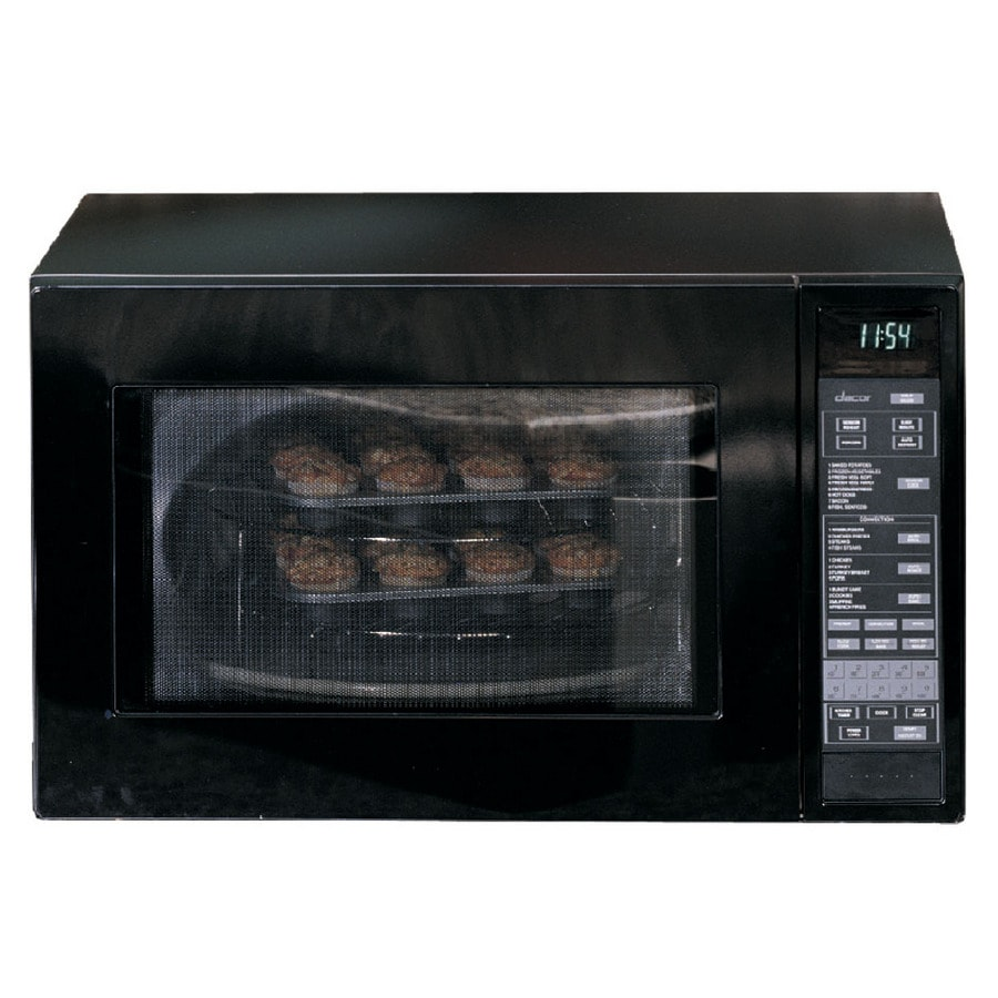 Dacor 1.5-cu ft 900-Watt Countertop Convection Microwave (Black)