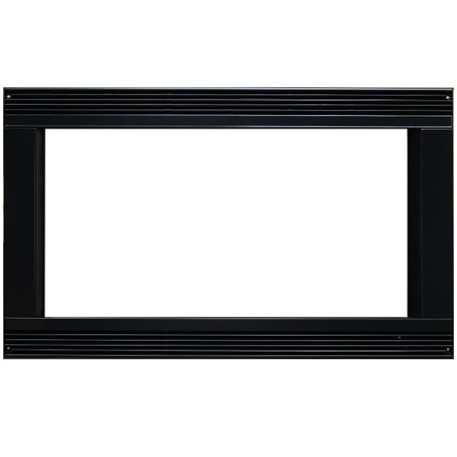 Shop dacor 27 in black microwave trim kit at for Decor microwave
