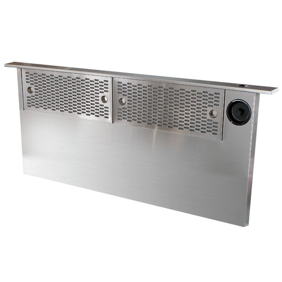 Shop dacor 36 in downdraft range hood stainless steel at for Dacor cooktop