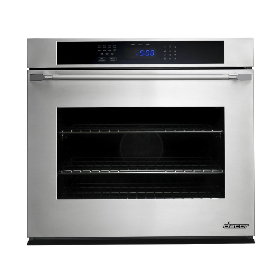 Dacor Microwave Convection Oven: Dacor Self-Cleaning With Steam Convection Single Electric