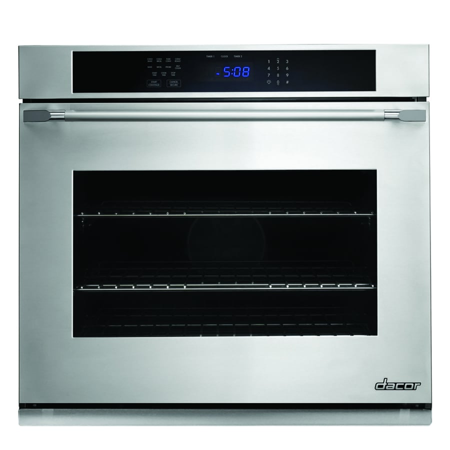 Dacor Distinctive Self-Cleaning Convection Single Electric Wall Oven (Stainless Steel) (Common: 27-in; Actual 27-in)