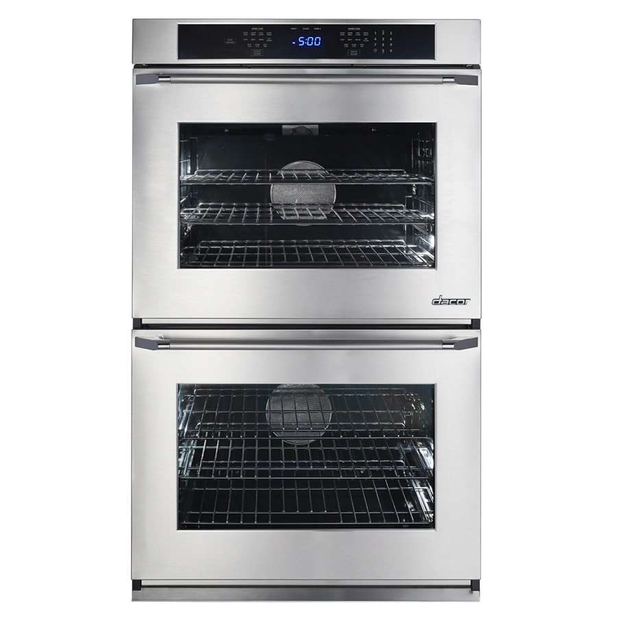 Dacor Renaissance Self-Cleaning Convection Single-Fan Double Electric Wall Oven (Stainless Steel with Chrome Trim) (Common: 30-in; Actual: 30-in)