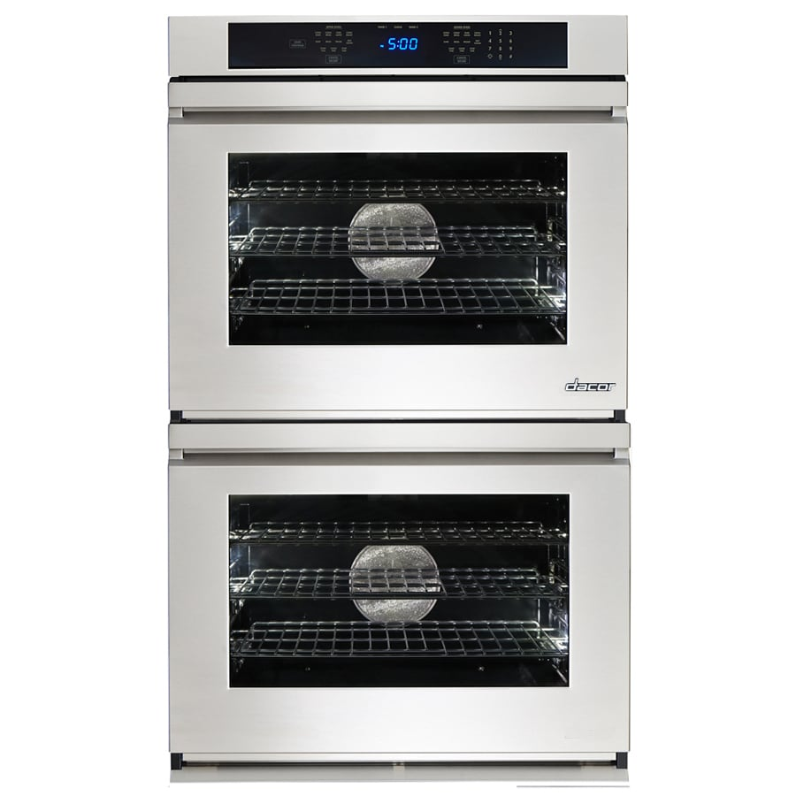 Dacor Renaissance Self-Cleaning Convection Double Electric Wall Oven (Stainless Steel) (Common: 30-in; Actual: 30-in)