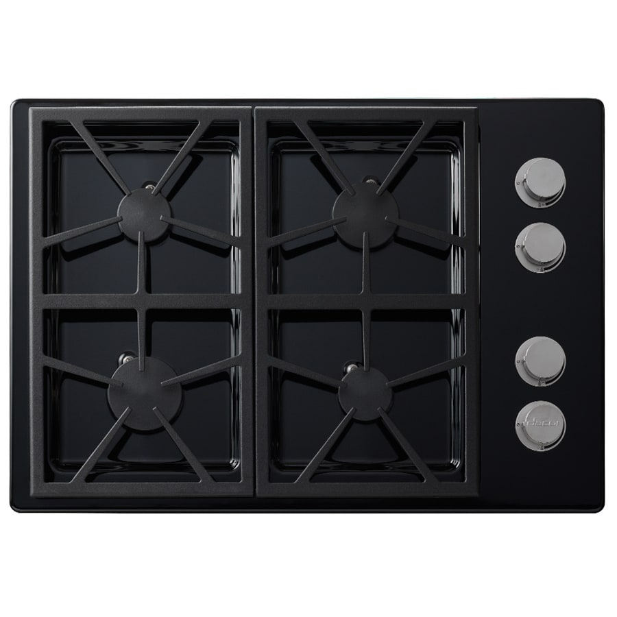 Dacor Distinctive 4-Burner Gas Cooktop (Black) (Common: 30-in; Actual: 30-in)