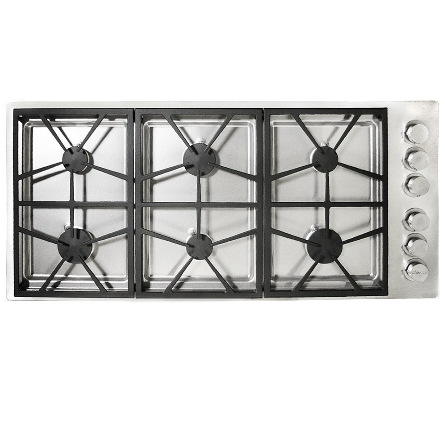 Dacor 6-Burner Gas Cooktop (Stainless Steel) (Common: 46-in; Actual: 46-in)