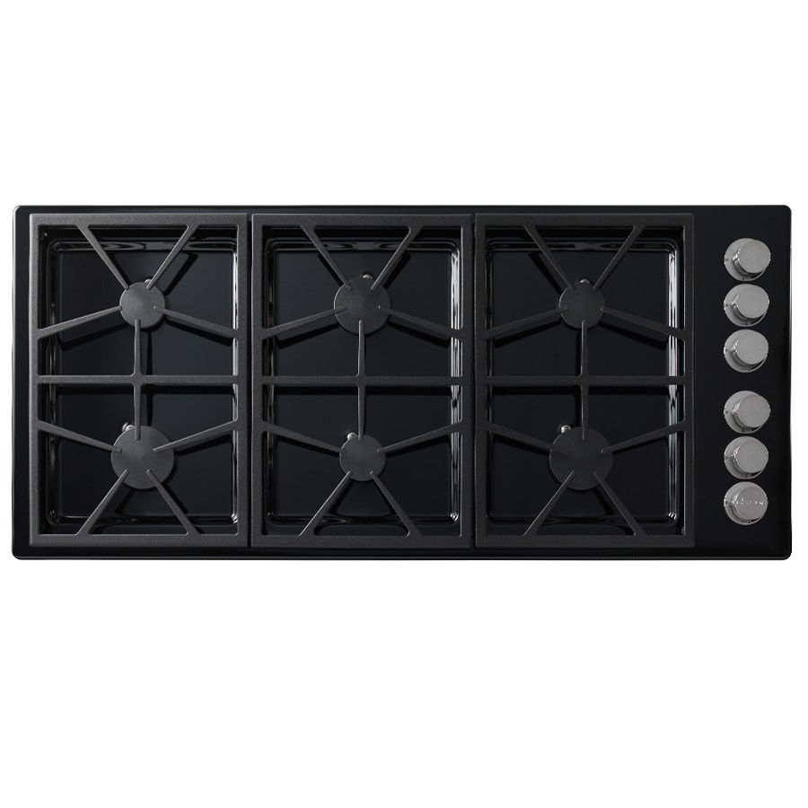 Dacor Distinctive 6-Burner Gas Cooktop (Black) (Common: 46-in; Actual: 46-in)