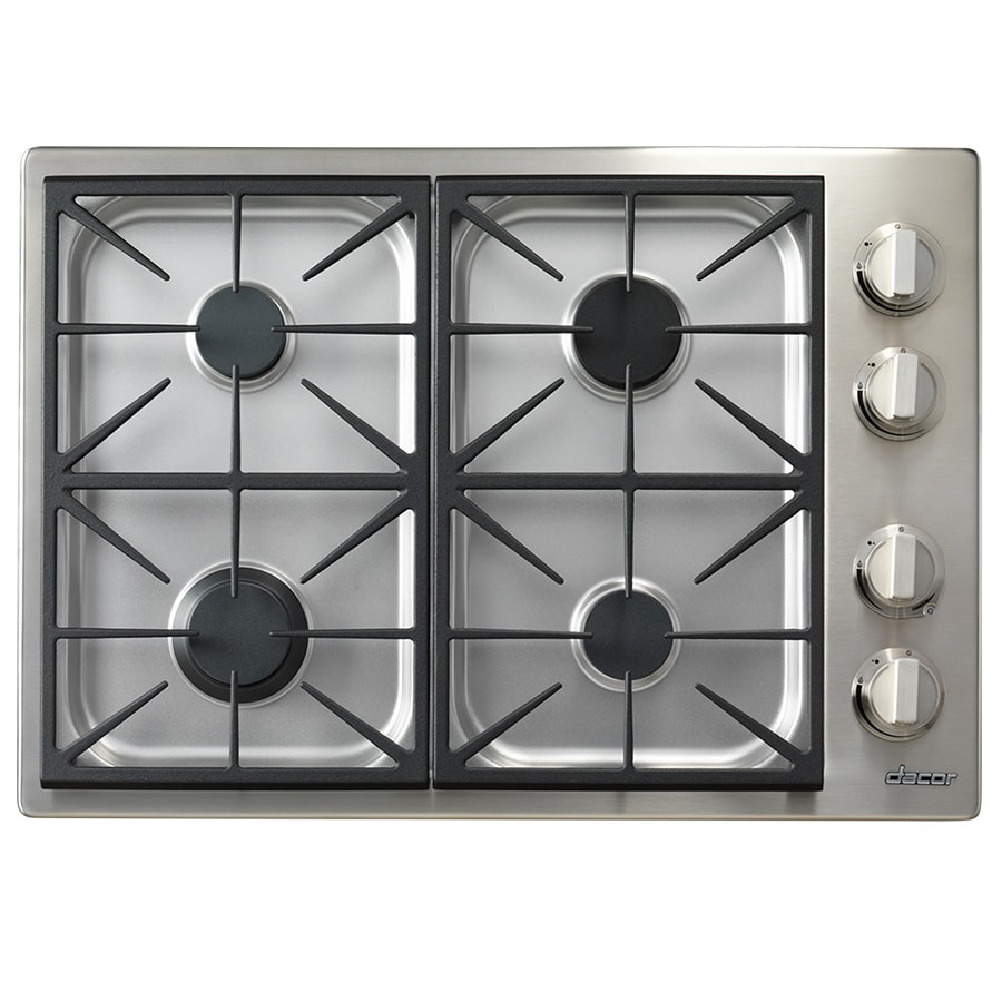 Shop dacor discovery gas cooktop stainless steel common for Dacor cooktop