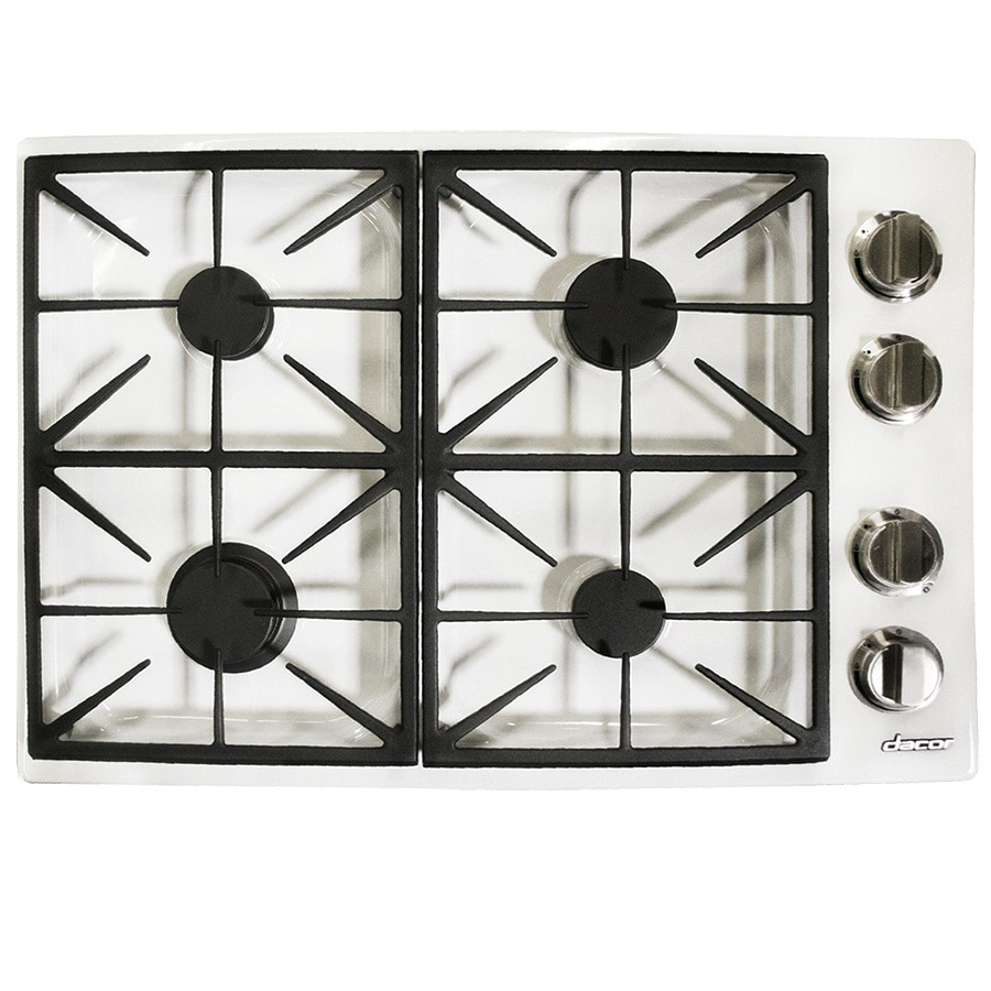 Dacor Gas Cooktop (White) (Common: 30-in; Actual: 30-in)