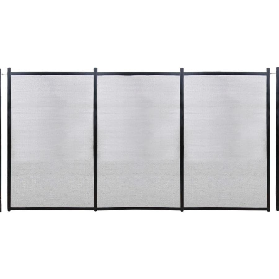 Shop gli in ground steel pool fencing panel common 12 ft actual gli in ground steel pool fencing panel common 12 ft actual baanklon Images