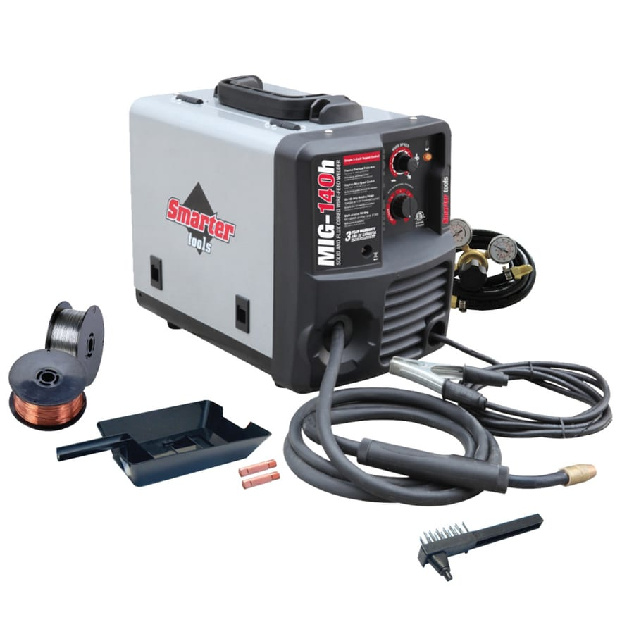 Smarter Tools 120-Volt MIG Flux-Cored Wire Feed Welder