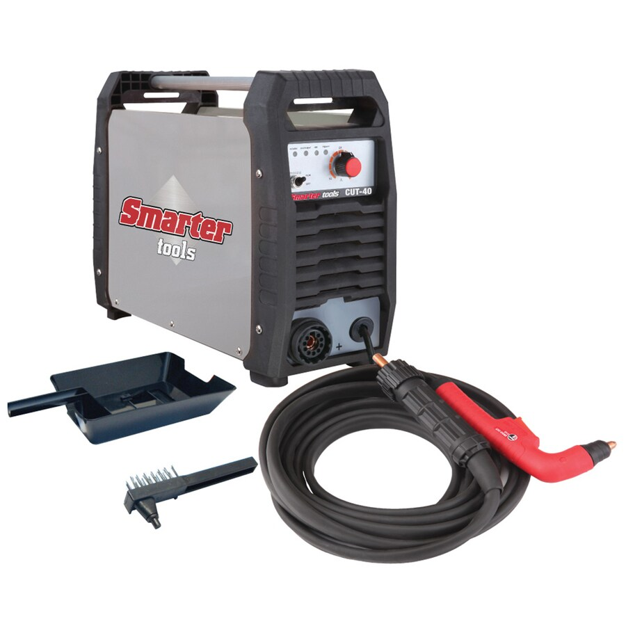 Smarter Tools 240-Volt 110-PSI Plasma Cutter with Air Compressor