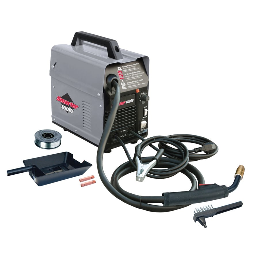 Smarter Tools 120-Volt Flux-Cored Wire Feed Welder