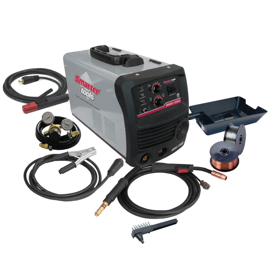 Smarter Tools 240-Volt MIG Flux-Cored Wire Feed Welder