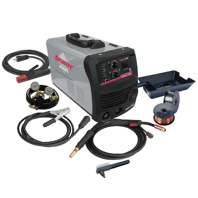 Smarter Tools 240-Volt Mig Flux-Cored Wire Feed Welder at ... on