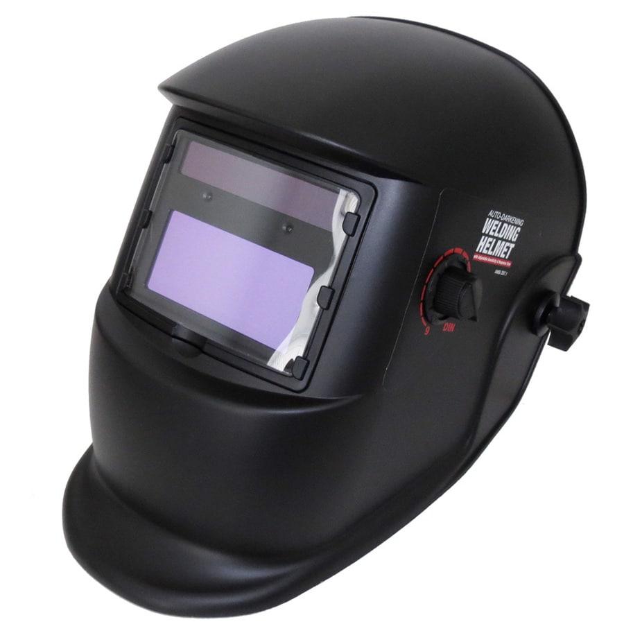 Smarter Tools Auto Darkening Variable Shade Black Matte Welding Helmet