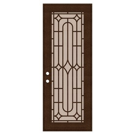 TITAN Powder-coat Copperclad Aluminum Surface Mount Single Security Door (Common 36-  sc 1 st  Loweu0027s & Shop Security Doors at Lowes.com