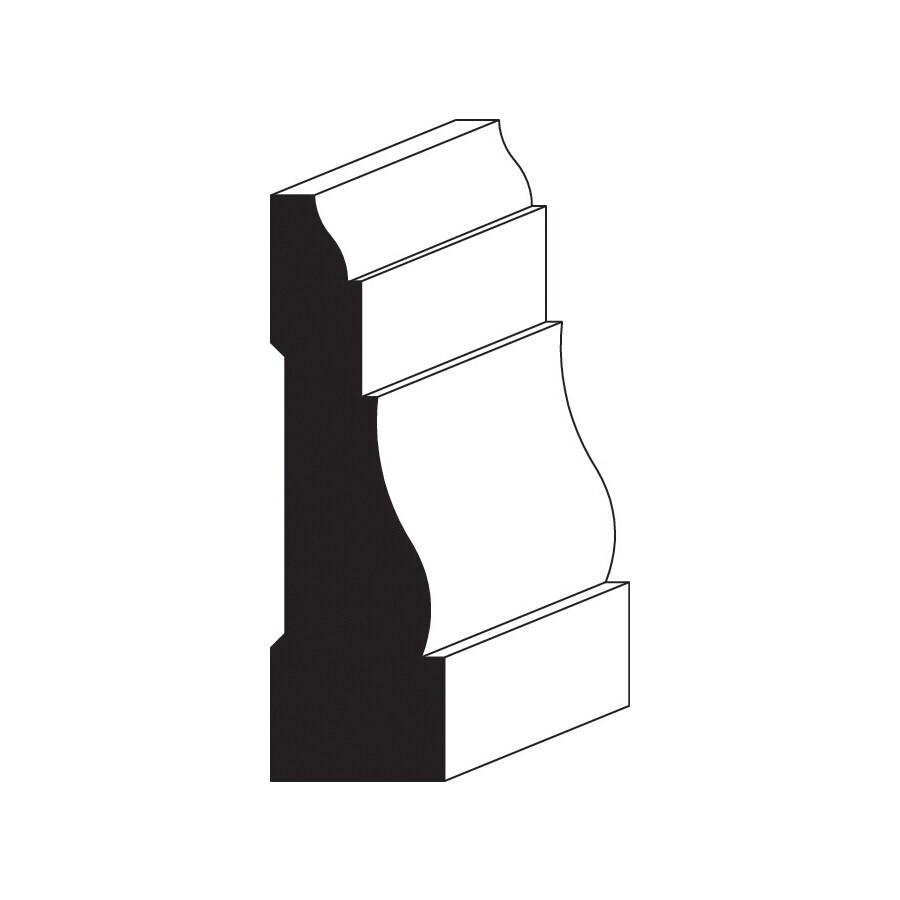 36-in x 7-ft Interior Pine Primed Finger Joint Door Casing Kit