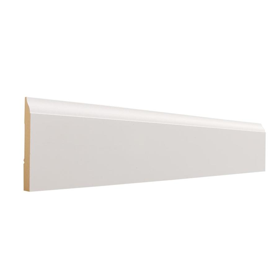 EverTrue 8-Pack 3.25-in x 12-ft Interior MDF Baseboard
