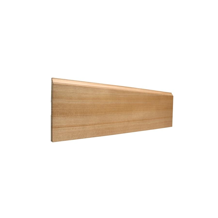 5.25-in x 8-ft Interior Hemlock Baseboard
