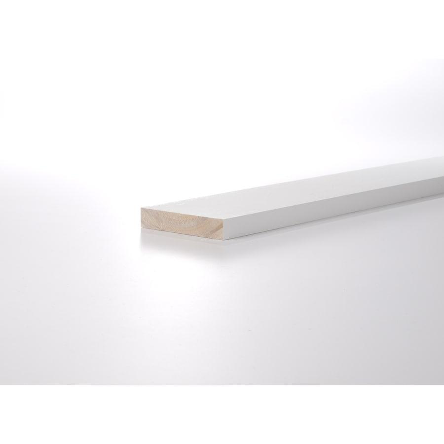(Common: 1-1/4-in x 4-in x 12-ft; Actual: 1.0625-in x 3.5-in x 12-ft) Primed Pine Board