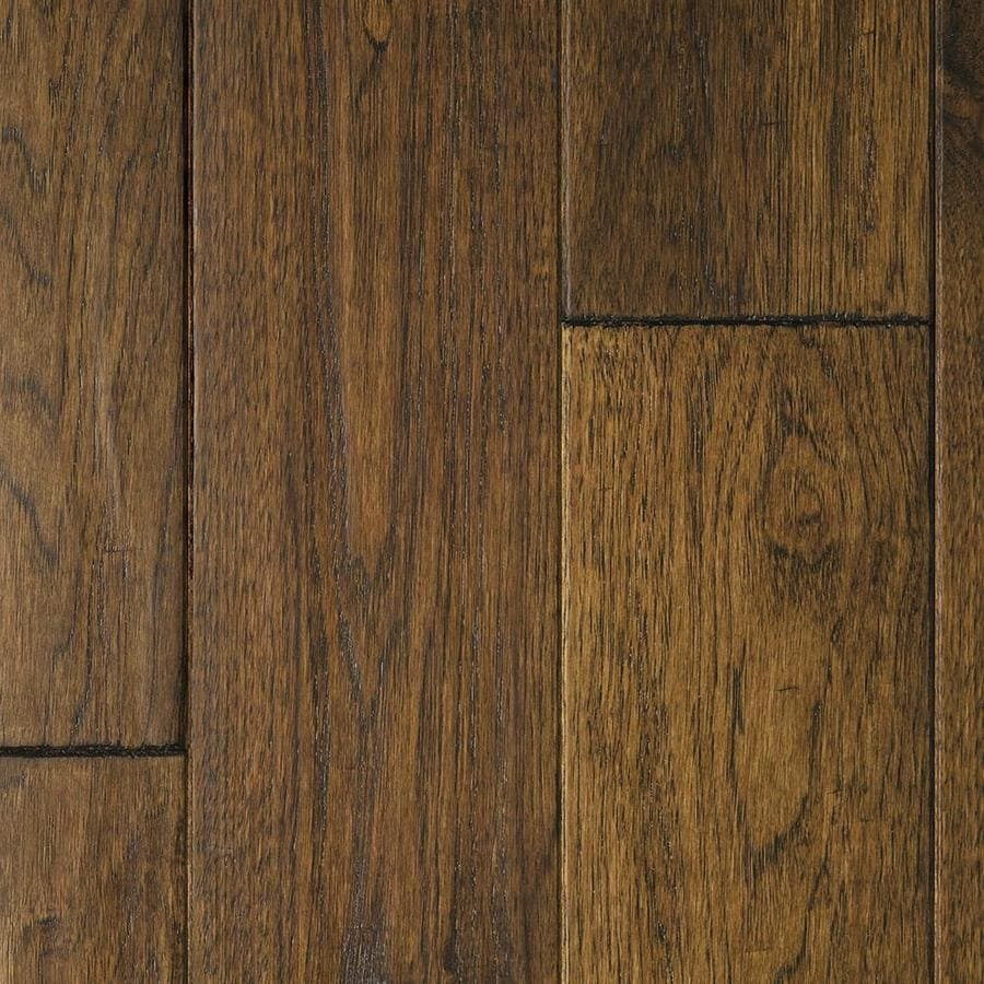 Shop mullican flooring chatelaine 5 in w prefinished for Hickory flooring
