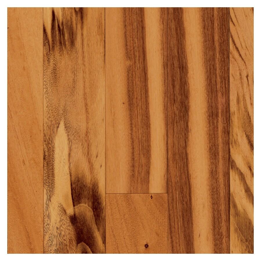 Shop mullican flooring exotic solid tigerwood hardwood for Exotic hardwood flooring