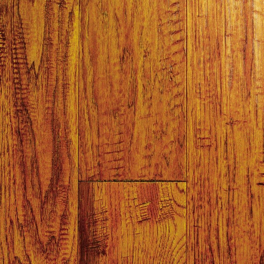Mullican Flooring Chalmette 5-in W Prefinished Hickory Engineered Hardwood Flooring (Sundance)
