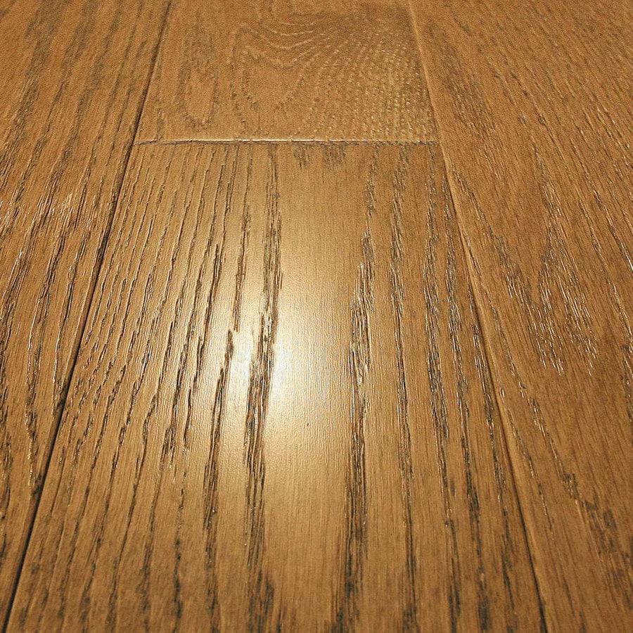 Shop mullican flooring frontier 4 in w prefinished oak for Mullican flooring