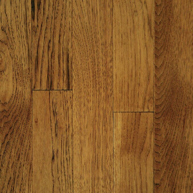Mullican Flooring Muirfield 5 In Saddle Hickory Smooth Traditional Solid Hardwood Flooring 20 Sq Ft In The Hardwood Flooring Department At Lowes Com